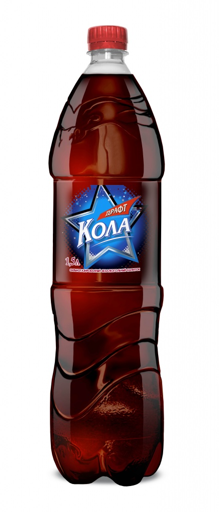 Газированный напиток Кола 1,5 л.
