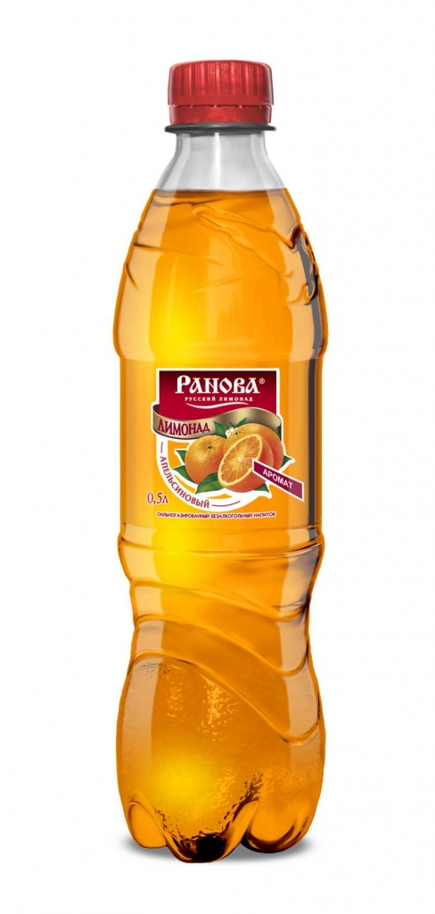 Лимонад Апельсиновый 0,5 л.